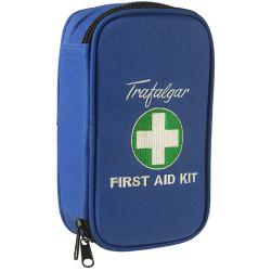 Trafalgar First Aid Kit Vehicle Low Risk Soft Case Blue