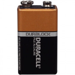 DURACELL COPPERTOP BATTERY 9V 005995