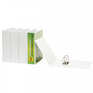 Marbig Clearview Insert Lever Arch Binder A4 75mm White