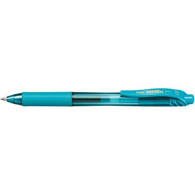 PENTEL ENERGEL X GEL INK PEN BL107 Retractable 0.7mm Turquoise