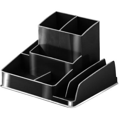 ITALPLAST DESK ORGANISER GreenR Recycled Black